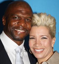 Terry Crews and Rebecca at the 39th NAACP Image Awards Nominee Luncheon.