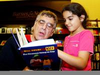 Elliott Gould and Donna Kahen Talei at the Anti-Defamation League 'Close the Book on Hate the 3rd annual nationwide campaign.
