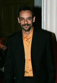 Alexander Siddig at the aftershow party following the European premiere of