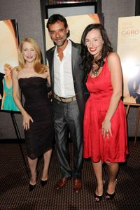 Patricia Clarkson, Alexander Siddig and Ruba Nadda at the premiere of