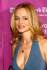 Heather Graham at the premiere of