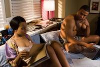 Kerry Washington as Lucy and David Ramsey as Joseph in