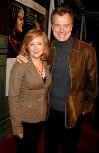 Stephen Collins and Faye Grant at the world premiere of