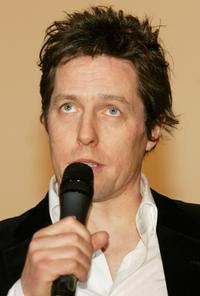 Hugh Grant at the premiere of