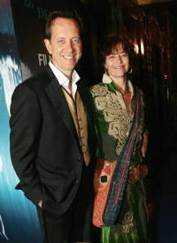 Richard E. Grant and Rachel Ward at the Sydney Film Festival Opening Night at the State Theatre.