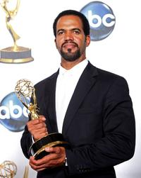 Kristoff St. John at the 35th Annual Daytime Emmy Awards.