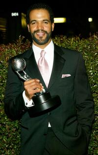 Kristoff St. John at the 35th Annual NAACP Image Awards.