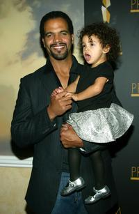 Kristoff St. John with his Daughter Lola at the 9th Annual Prism Awards.
