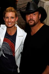 Faith Hill and Tim McGraw at the 42nd Academy of Country Music Awards.