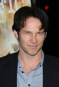 Stephen Moyer at the premiere of