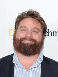 Zach Galifianakis at the New York premiere of