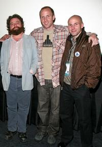 Zach Galifianakis, Jared Drake and Brandon Drake at the 2008 AFI Fest special screening of