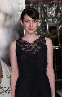 Emma Roberts at the after party of the premiere of
