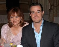 Pattie Daly Caruso and Carson Daly at the Lifetime Television