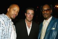 Rappers Warren, Carson Daly and Snoop Dogg at the after party of the premiere of