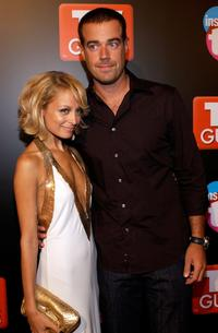 Nicole Richie and Carson Daly at the TV Guide and Inside TV 2005 Emmy after party.