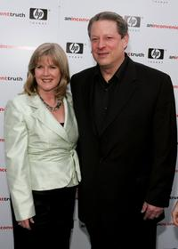 Al Gore and wife Tipper Gore at the Los Angeles premiere of