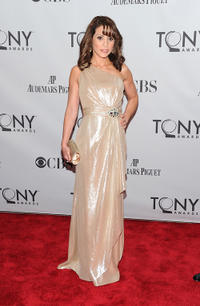 Elizabeth Rodriguez at the 65th Annual Tony Awards in New York.