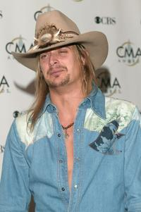 Kid Rock at the 37th Annual CMA Awards.