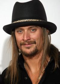 Kid Rock at the 50th Grammy Awards.
