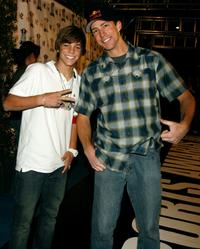 Ryan Sheckler and Travis Pastrana at the Inaugural Arby's Action Sports Awards.