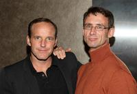 Clark Gregg and Chuck Palahniuk at the screening of