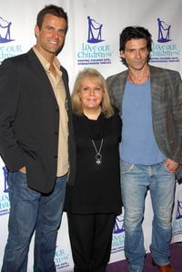 Cameron Mathison, Ross Ellis and Frank Grillo at the Fifth Annual National Love Our Children Day.