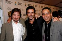 Shea Whigham, Frank Grillo and John Ortiz at the premiere of