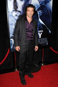 Frank Grillo at the New York premiere of