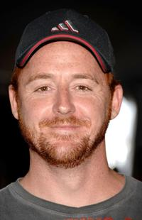 Scott Grimes at the Stanley Cup VIP reception after Game Five of the 2007 NHL Stanley Cup Finals between the Ottawa Senators and the Anaheim Ducks.