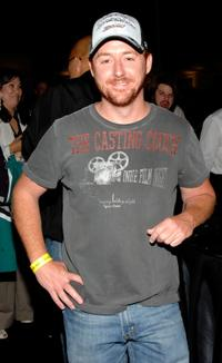 Scott Grimes at the 2007 NHL Stanley Cup Finals between the Ottawa Senators and the Anaheim Ducks.