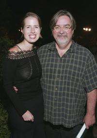 Kristin Gore and Matt Groening at the gathering to celebrate the publication of Gores new book