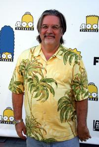 Matt Groening at the Simpsons 400th Episode Block Party.