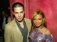 Jay Hernandez and Christina Milian at the after-party of