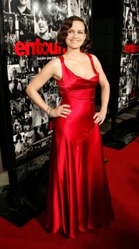 Carla Gugino at the premiere of the HBO series
