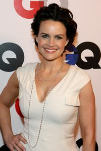 Carla Gugino at the GQ 2007 Men of the Year Celebration.