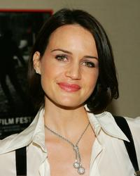 Carla Gugino at the Sony Pictures Classics and The New York Film Festival screening of