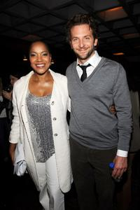Grace Hightower De Niro and Bradley Cooper at the Awards Night party during the 2009 Tribeca Film Festival.