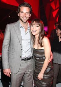 Bradley Cooper and Alyssa Milano at the after party of the premiere of