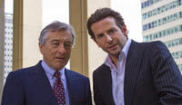 Robert De Niro and Bradley Cooper in