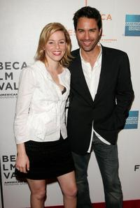Elizabeth Banks and Eric McCormack at the screening of