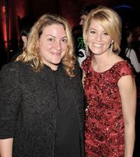 Carla Gardini and Elizabeth Banks at the after party of the premiere of