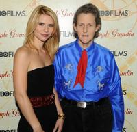 Claire Danes and Temple Grandin at the premiere of