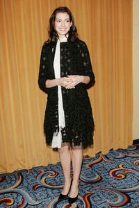 Anne Hathaway at the Motion Pictures Club's 65th Annual Awards and Installation Luncheon.