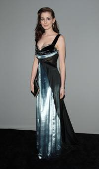 Anne Hathaway at the 12th Annual Screen Actors Guild Awards.