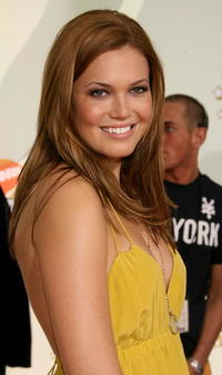 Actress Mandy Moore at the 20th Annual Kid's Choice Awards in California.