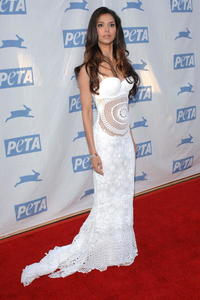 Roselyn Sanchez at PETA's 15th Anniversary Gala and Humanitarian Awards .