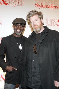 Eriq Ebouaney and director Mark Bamford at the Life and Style Magazine's Stylemakers 2005.