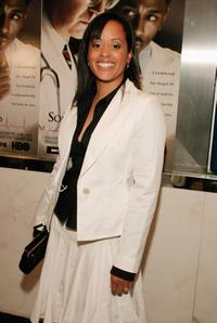 Essence Atkins at the premiere of