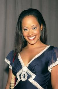 Essence Atkins at the announcement of United Paramount Network's (UPN) 2002-2003 primetime schedule of series.